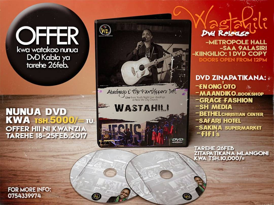 The W'z Wastahili DVD